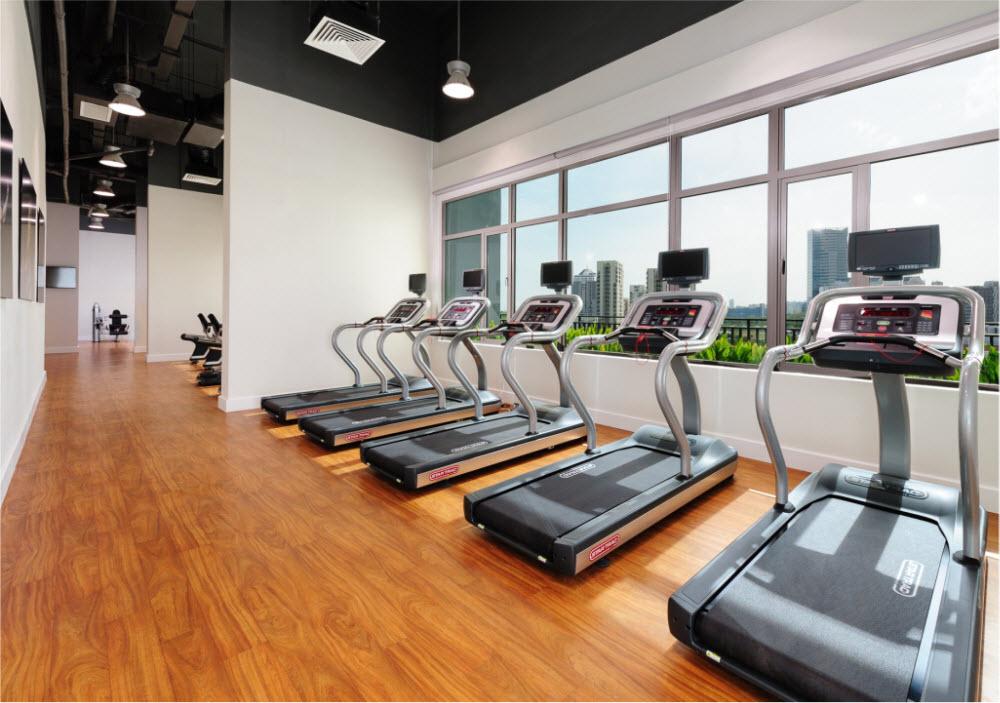 Phòng tập gyn, yoga tại căn hộ The View Riviera Point quận 7.