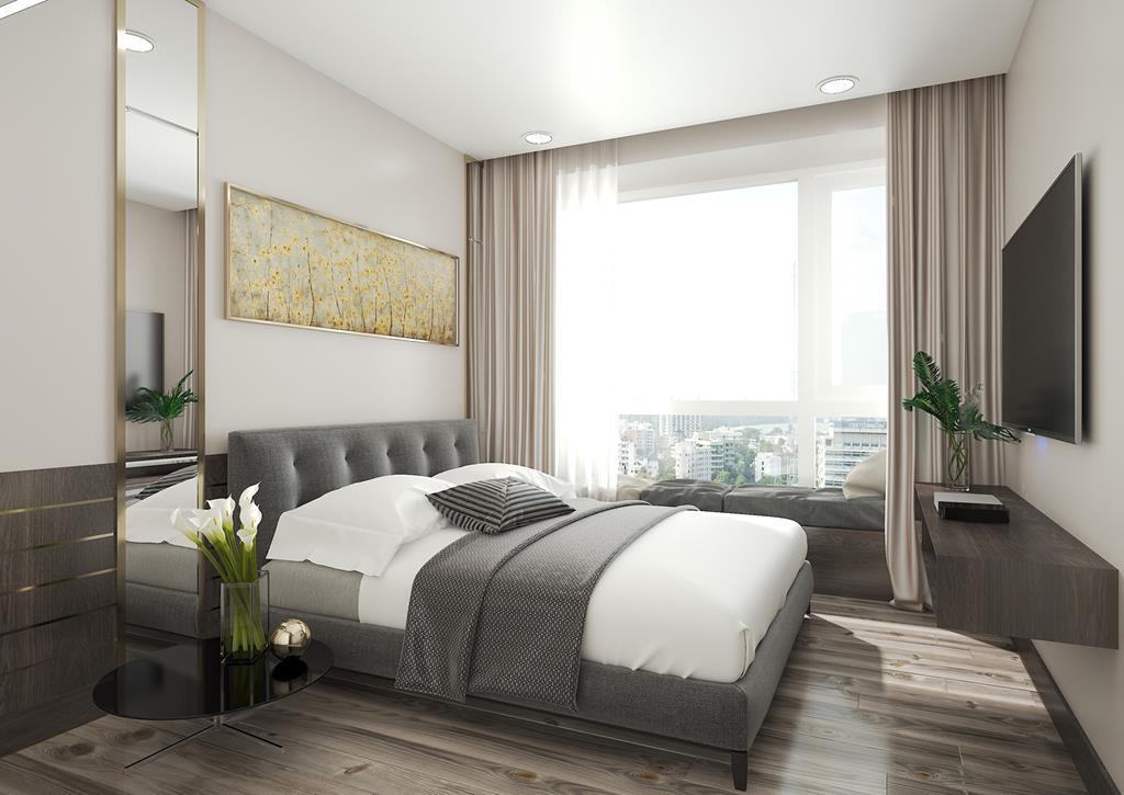 Căn hộ mẫu The Infiniti Riviera Point quận 7 - Phòng ngủ 2.