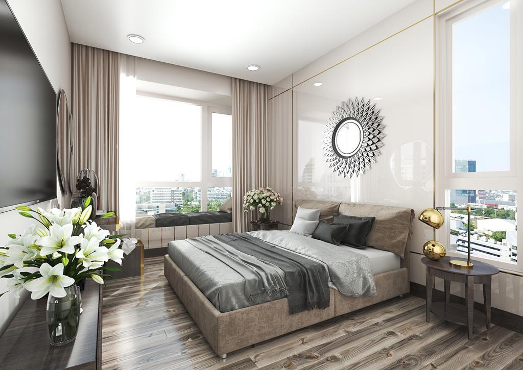 Căn hộ mẫu The Infiniti Riviera Point quận 7 - Phòng ngủ.