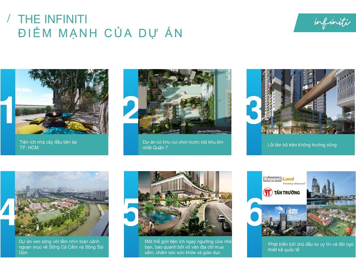 Điểm vượt trội của dự án The Infiniti Riviera Point quan 7.