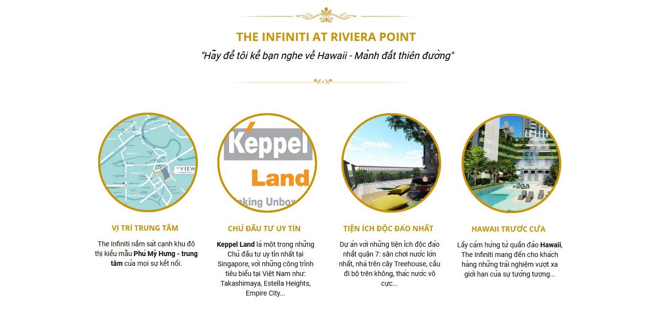 Về dự án The Infiniti Riviera Point quận 7.