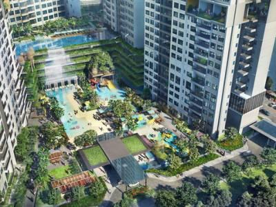 1.700 m2 mặt nước được quy hoạch thế nào trong dự án The Infiniti at Riviera Point?