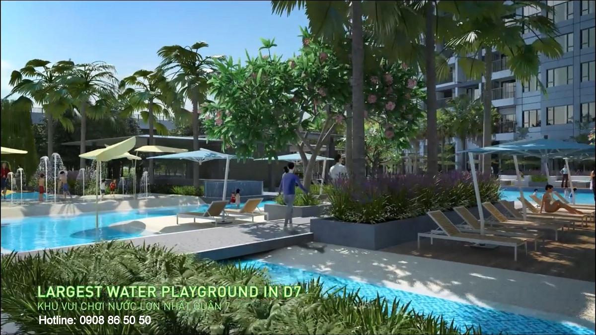 Tiện ích Dự án căn hộ The Infiniti at Riviera Point quận 7.