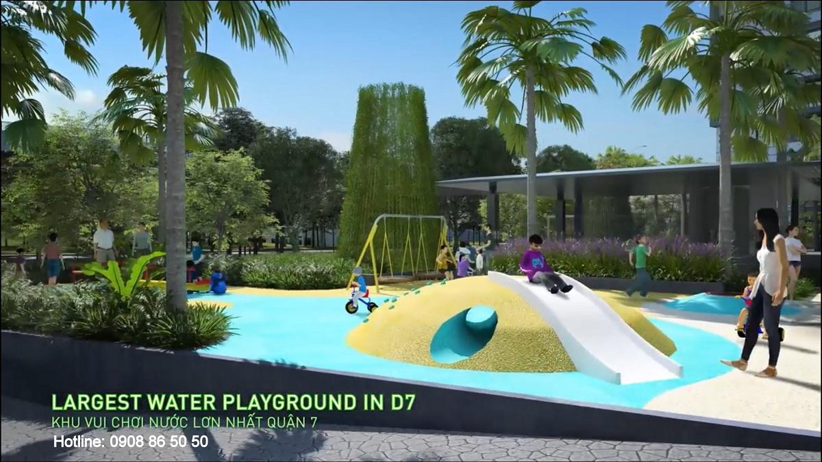Tiện ích Dự án căn hộ The Infiniti at Riviera Point quận 7 (Keppel Land).
