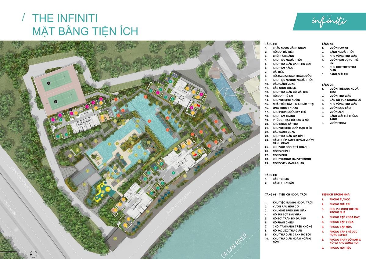 The Infiniti at Riviera Point với hơn 60 tiện ích nghỉ dưỡng đáng sống.