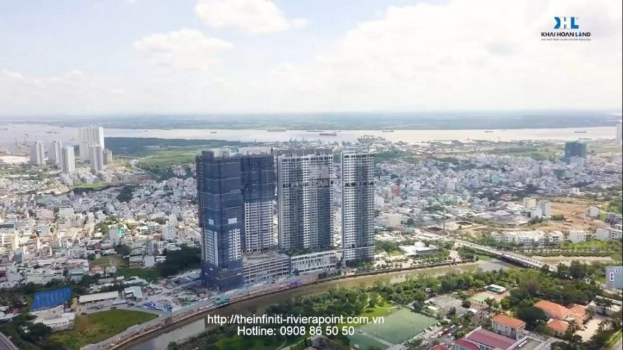 View Song Sai Gon, cau phu My - Tien do du an The Infiniti at Riviera Point quan 7 - Hotline 0908865050