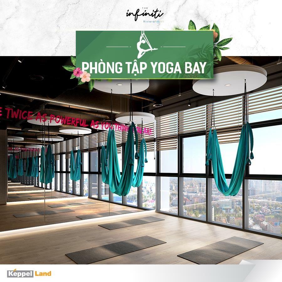 Phòng tập Yoga Bay tại căn hộ The Infiniti at Riviera Point quận 7.