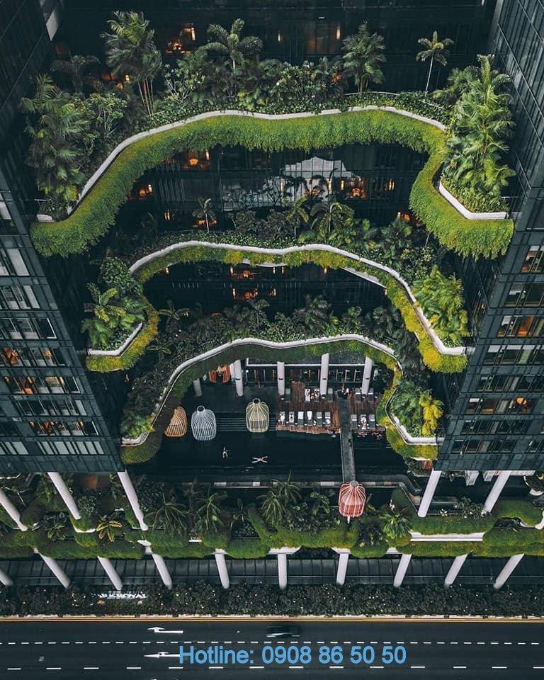 Ý tưởng thiết kế căn hộ The Lofts Riviera Point quận 7 của Keppel Land.