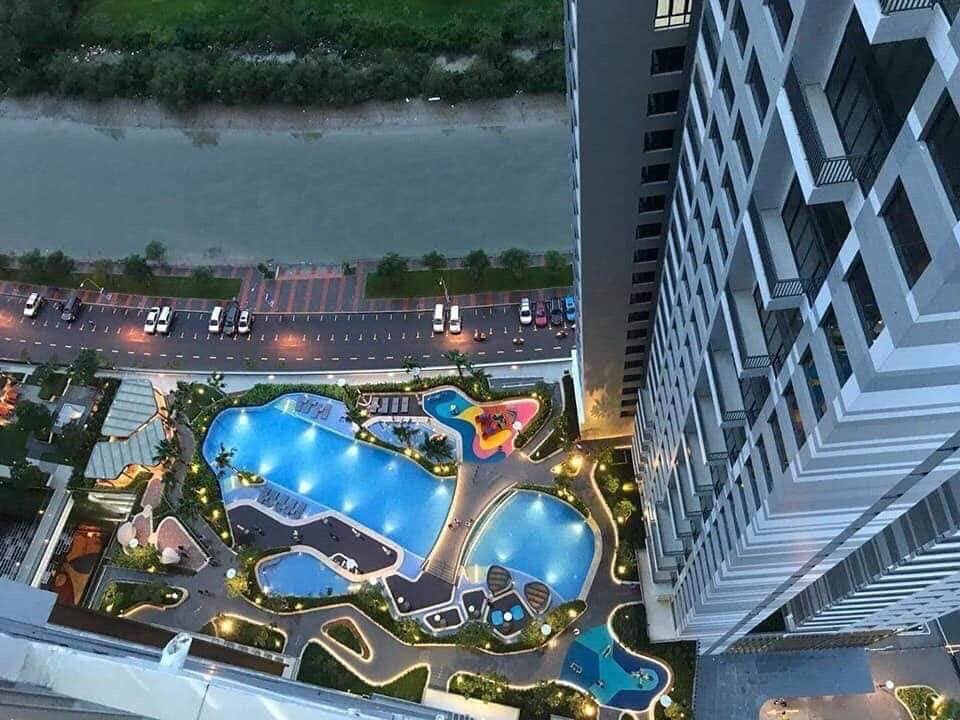 Tiến độ dự án The View Riviera Point quận 7 - The Infiniti Keppel Land 1