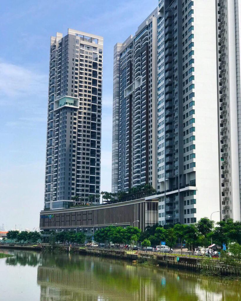 Tiến độ dự án The View Riviera Point quận 7 - The Infiniti Keppel Land