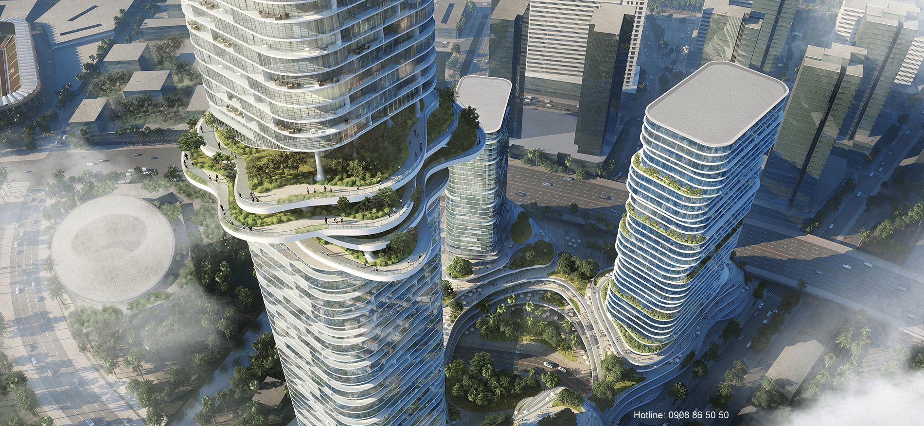 Dự án căn hộ Empire City Thủ Thiêm quận 2 - Bảng giá bán, cho thuê.